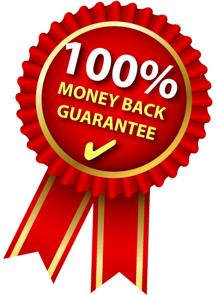 Our Money-back Guarantee